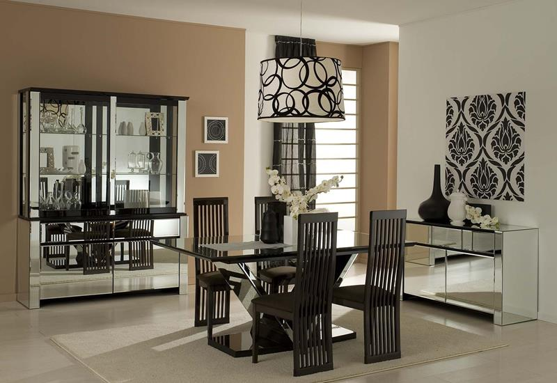 23 Sleek Contemporary Dining Room Designs-2
