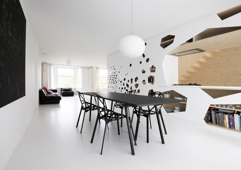 23 Sleek Contemporary Dining Room Designs-22