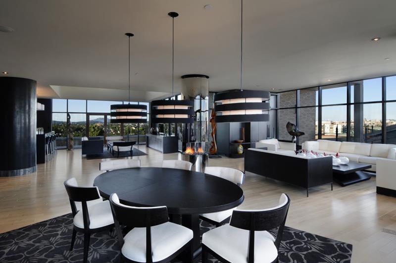 23 Sleek Contemporary Dining Room Designs-23
