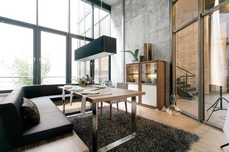 23 Sleek Contemporary Dining Room Designs-3