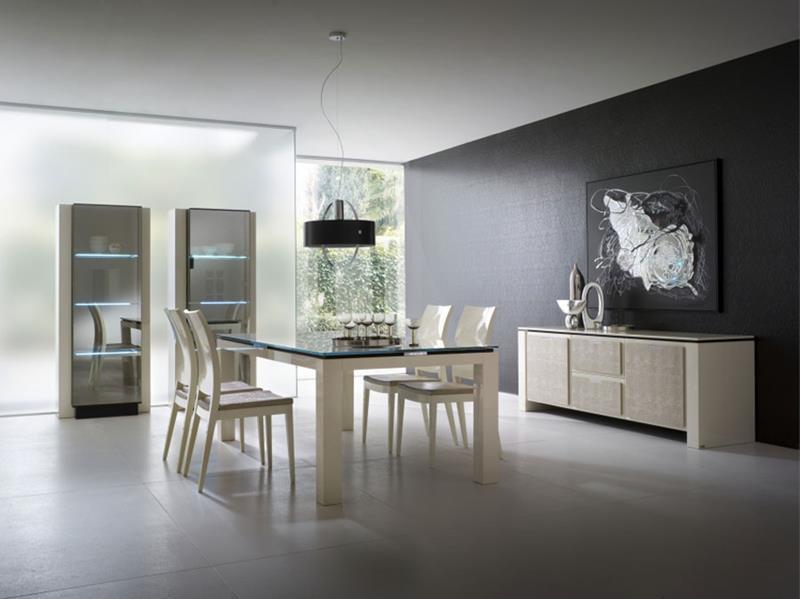 23 Sleek Contemporary Dining Room Designs-5