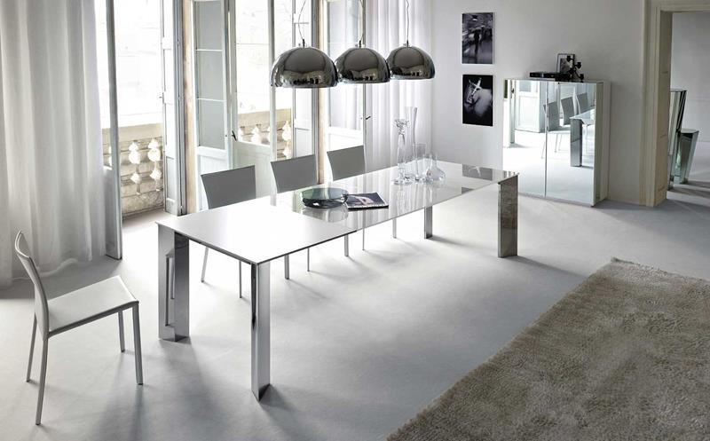 23 Sleek Contemporary Dining Room Designs-6
