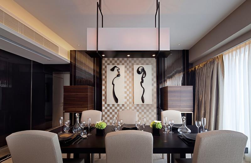 23 Sleek Contemporary Dining Room Designs-9