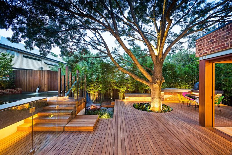 24 Beautiful Backyard Landscape Design Ideas-19