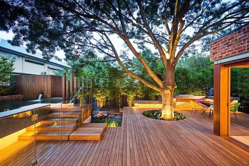 24 Beautiful Backyard Landscape Design Ideas-19