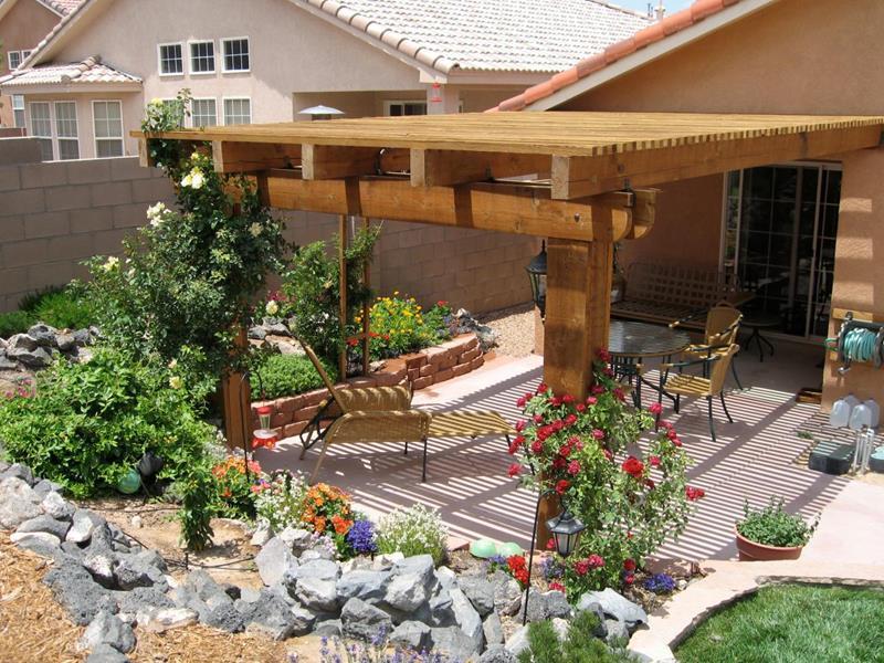 24 Beautiful Backyard Landscape Design Ideas-24