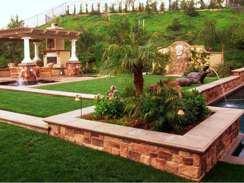 24 Beautiful Backyard Landscape Design Ideas-title