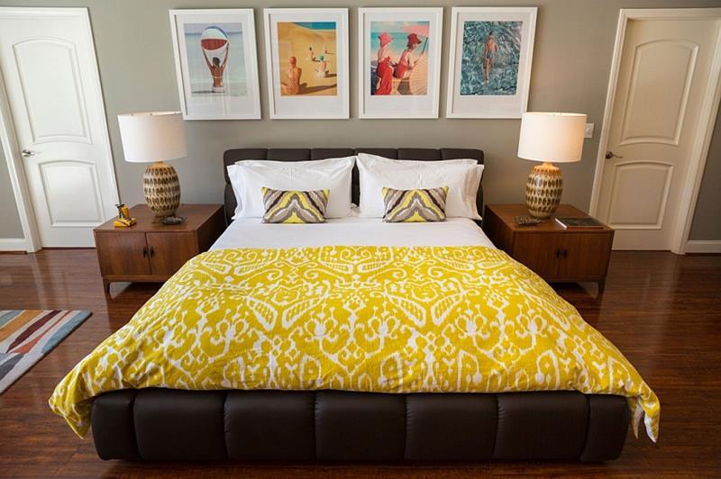 24 Beautiful Mid Century Bedroom Designs-3