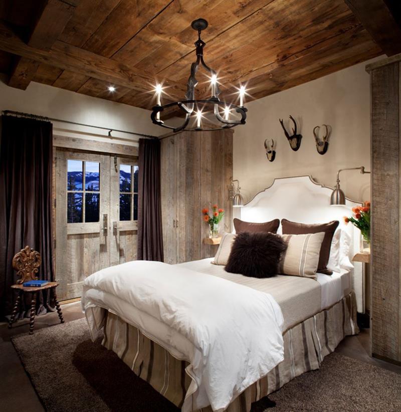 24 Beautiful Rustic Bedroom Designs-17