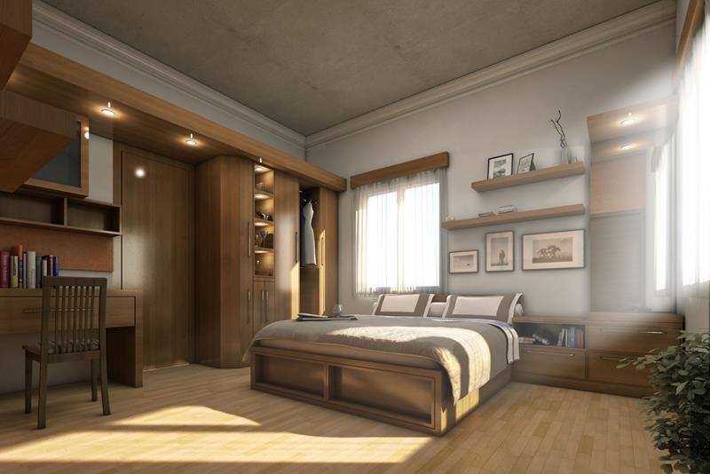 24 Beautiful Rustic Bedroom Designs-3