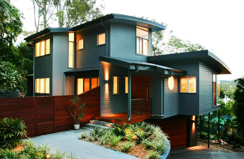24 Beautifully Blue Home Exteriors-19