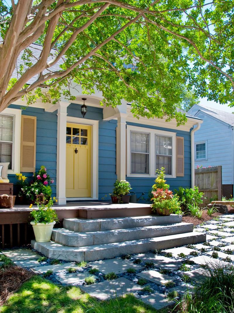 24 Beautifully Blue Home Exteriors-7