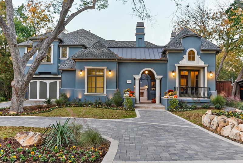24 Beautifully Blue Home Exteriors-9
