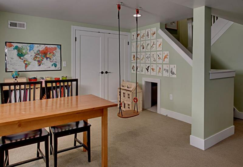 24 Child Friendly Finished Basement Designs-18
