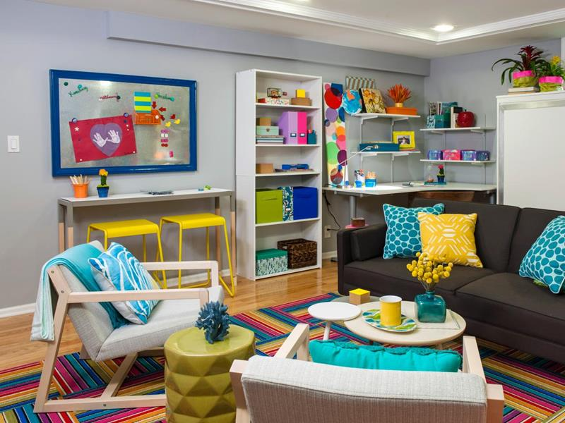 24 Child Friendly Finished Basement Designs-2