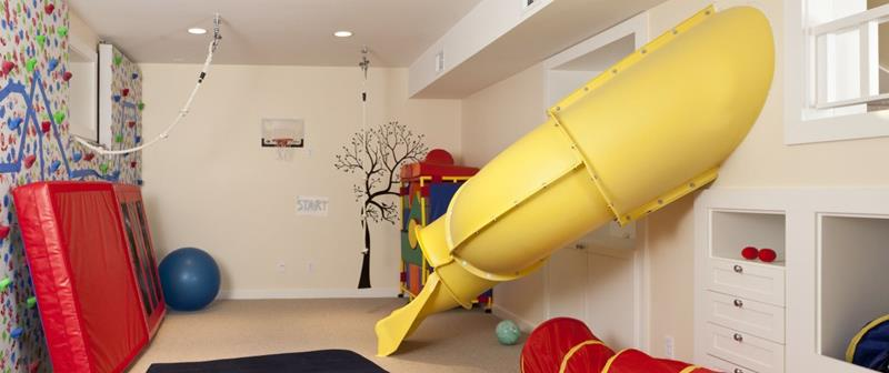 24 Child Friendly Finished Basement Designs-21