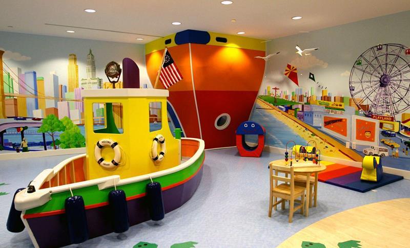 24 Child Friendly Finished Basement Designs-23