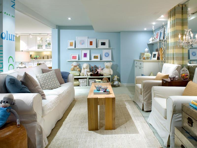 24 Child Friendly Finished Basement Designs-5