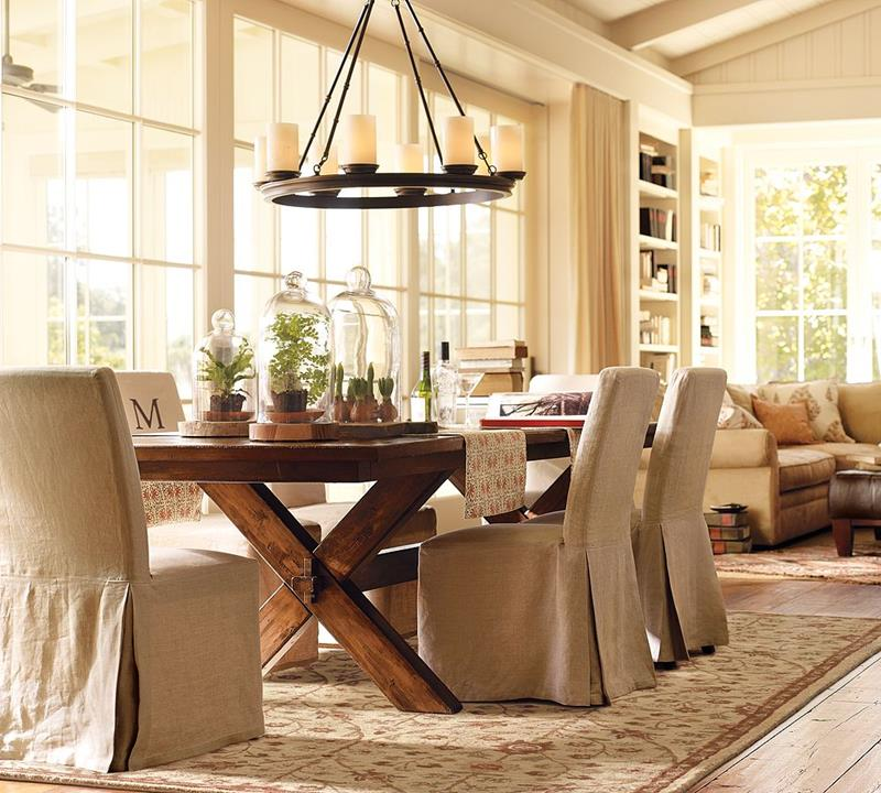 24 Country Dining Room Designs That Are So Inviting-1