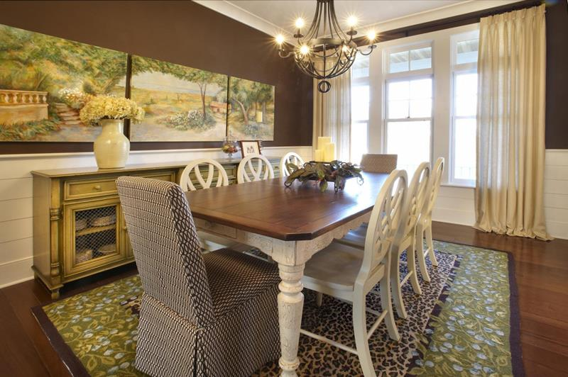 24 Country Dining Room Designs That Are So Inviting-10
