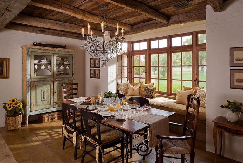 24 Country Dining Room Designs That Are So Inviting-12