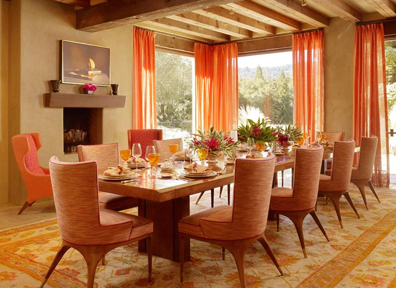 24 Country Dining Room Designs That Are So Inviting-17