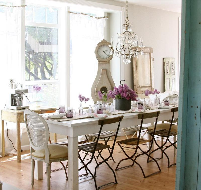 24 Country Dining Room Designs That Are So Inviting-20