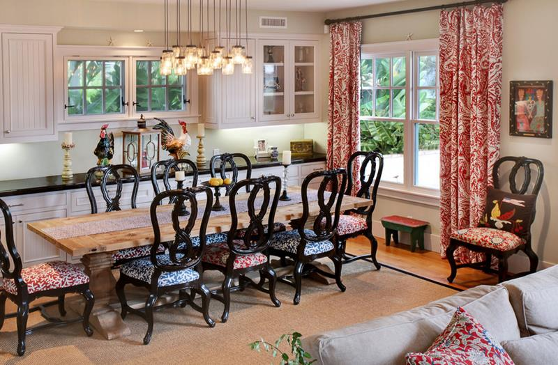 24 Country Dining Room Designs That Are So Inviting-23