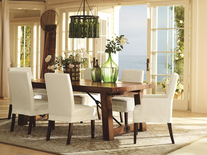24 Country Dining Room Designs That Are So Inviting-7