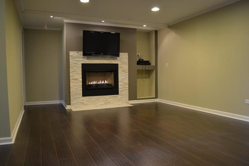 24 Finished Basements With Beautiful Hardwood Floors-title