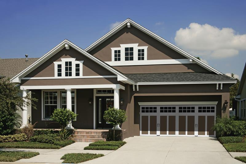 25 Awesome Garage Door Design Ideas on Garage Door Colors Ideas  id=62262
