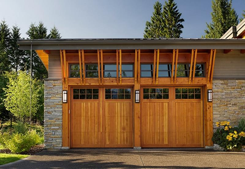 25 Awesome Garage Door Design Ideas-25