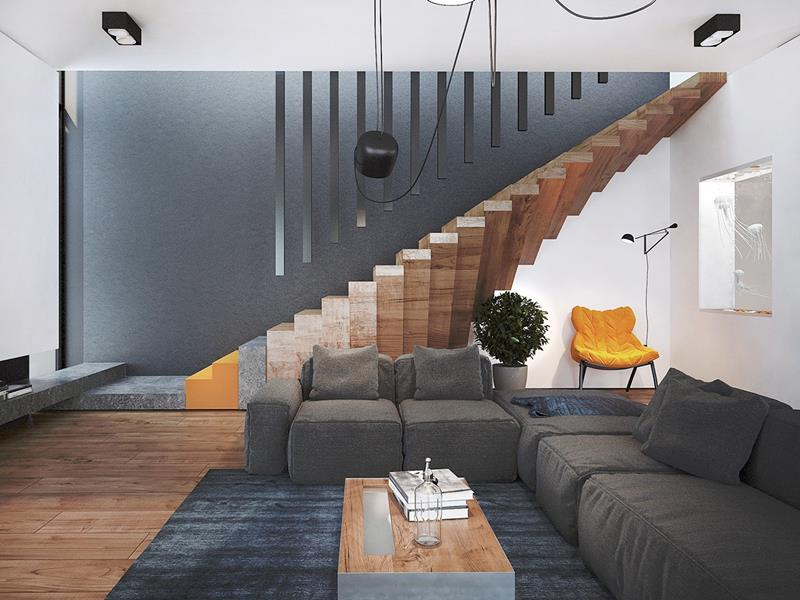 25 Crazy Awesome Home Staircase Designs-12