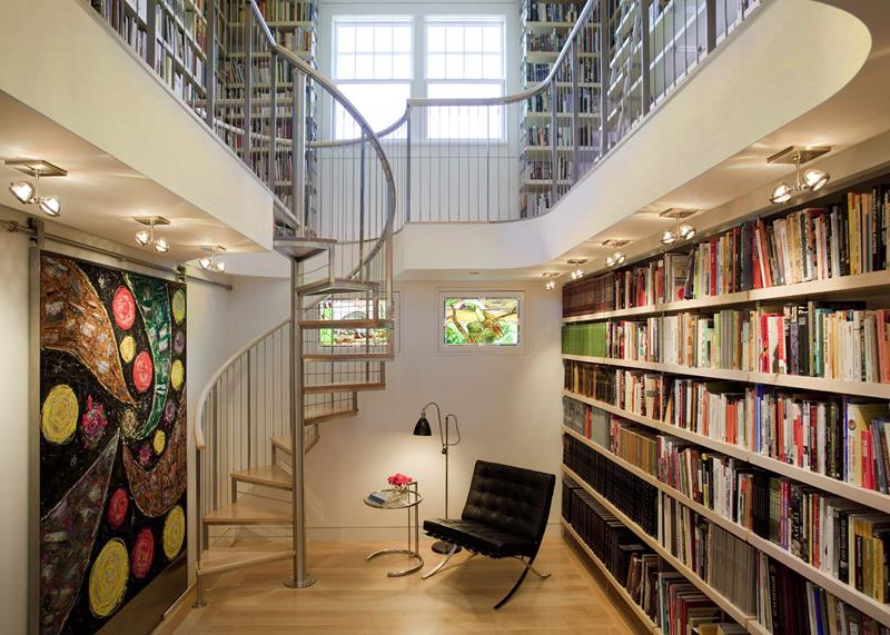 25 Crazy Awesome Home Staircase Designs-2