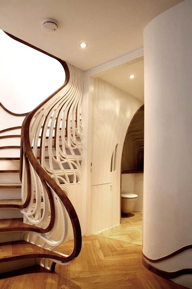 25 Crazy Awesome Home Staircase Designs-8