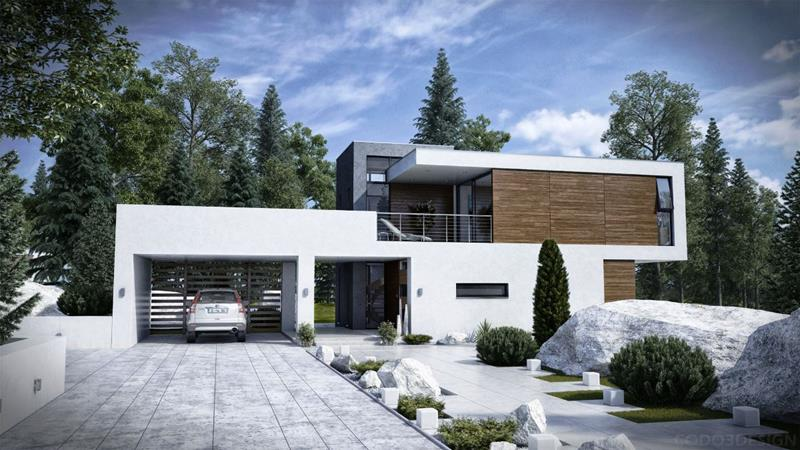 25 Luxury Home Exterior Designs-5