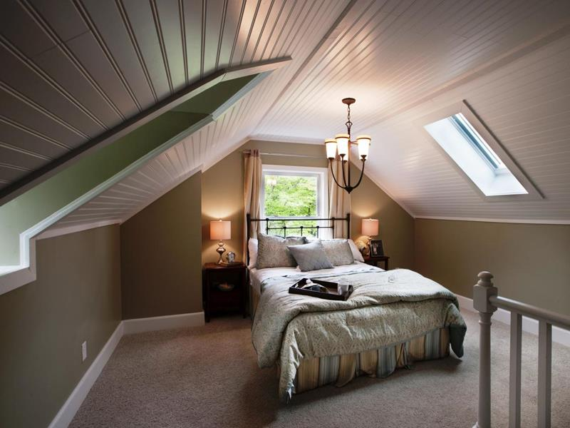 26 Amazing and Inspirational Finished Attic Designs-2