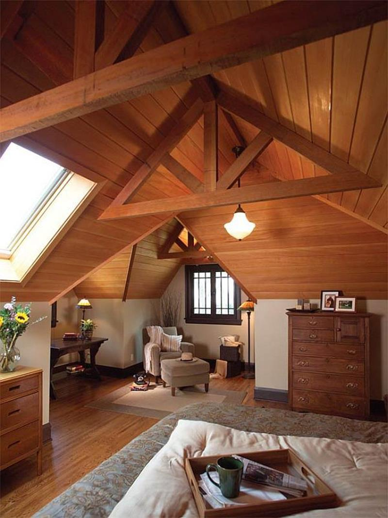 26 Amazing and Inspirational Finished Attic Designs-20