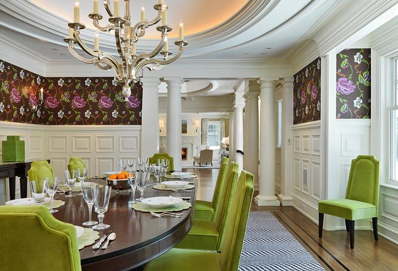 26 Beautiful and Bright Dining Room Designs-12