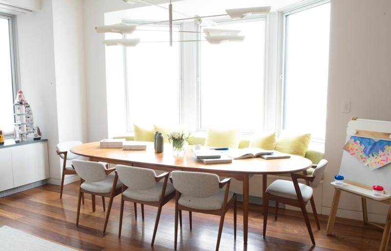 26 Beautiful and Bright Dining Room Designs-14