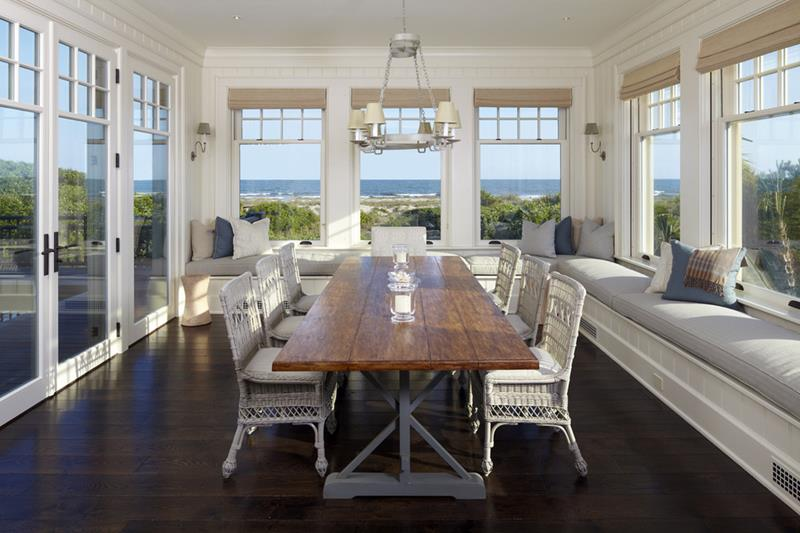 26 Beautiful and Bright Dining Room Designs-21