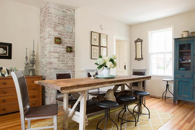 26 Beautiful and Bright Dining Room Designs-23