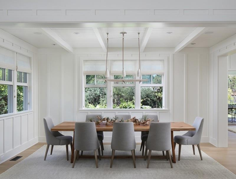 26 Beautiful and Bright Dining Room Designs-26