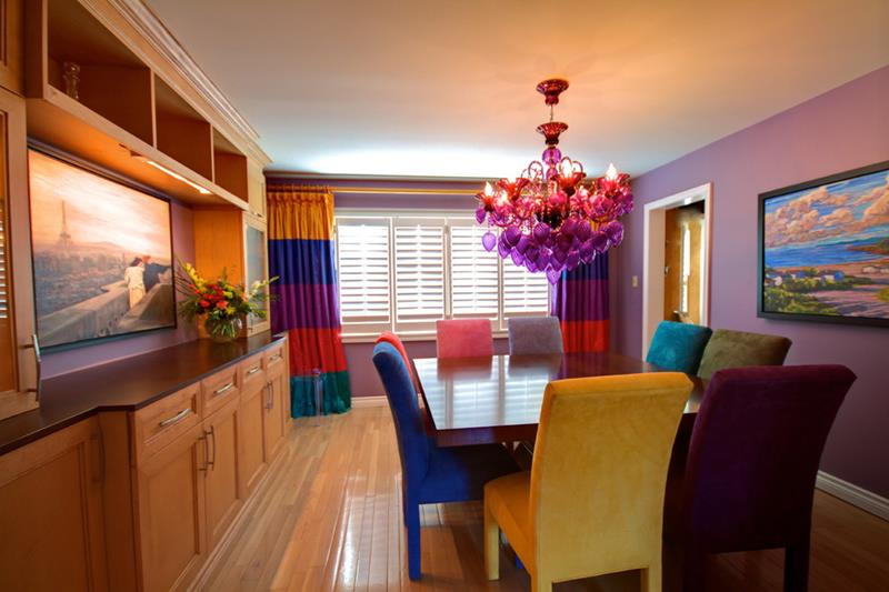 26 Beautiful and Bright Dining Room Designs-3