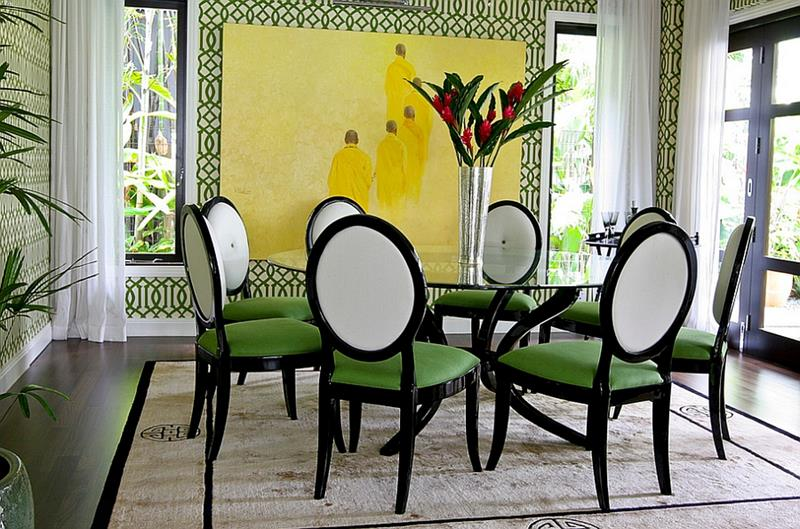 26 Beautiful and Bright Dining Room Designs-5