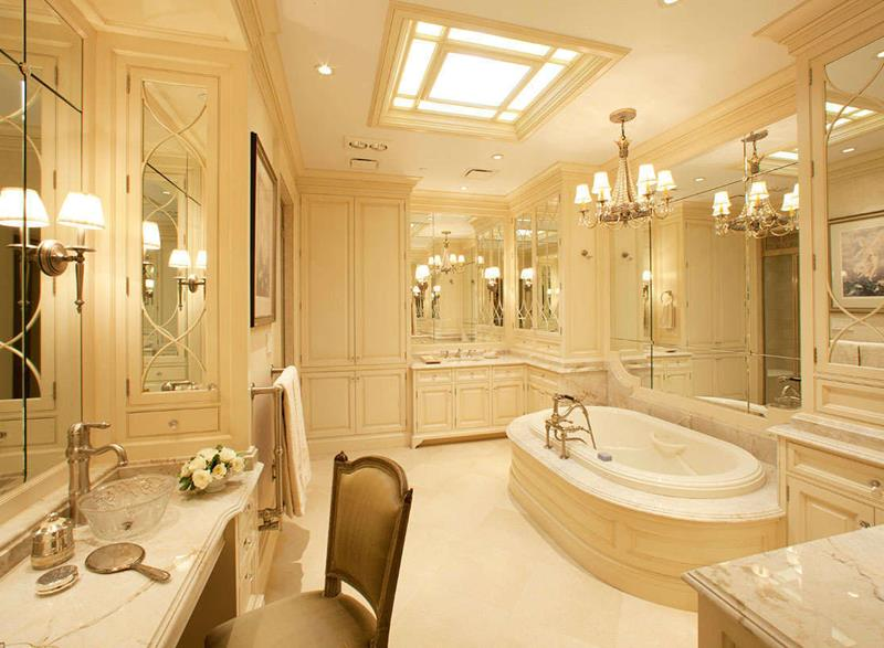 28 Stunningly Luxurious Bathroom Designs-19
