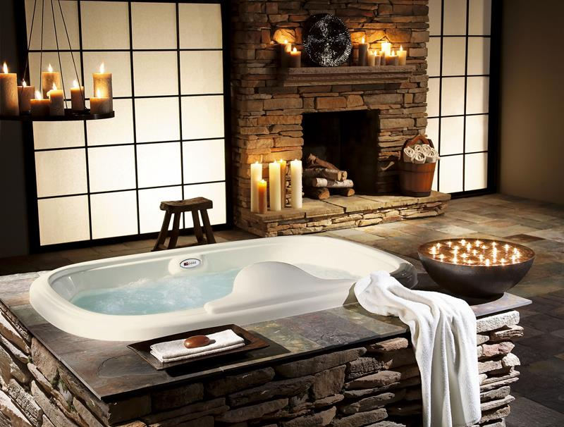 28 Stunningly Luxurious Bathroom Designs-5