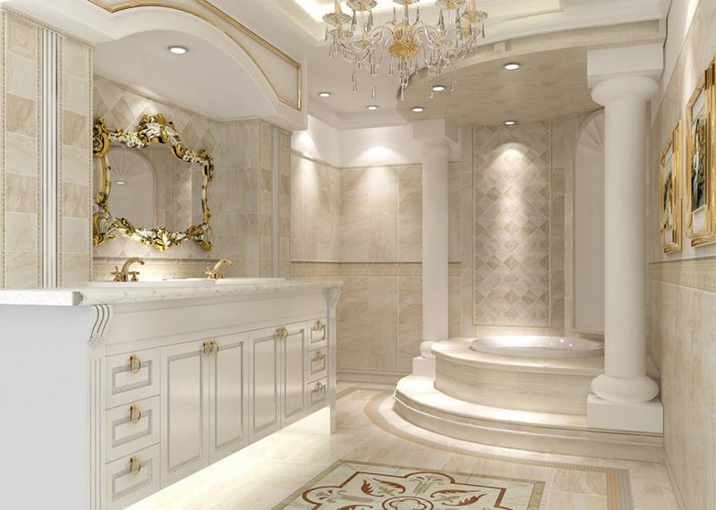 28 Stunningly Luxurious Bathroom Designs-6