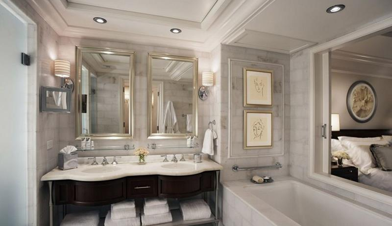 28 Stunningly Luxurious Bathroom Designs-8