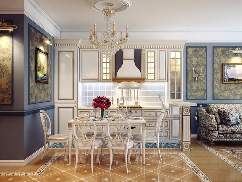 29 Awesome Open Concept Dining Room Designs-11
